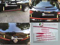 1 baúl4 SET puertas2 Set REEJILLA DELANTERO En Rojo RENAULT CLIO IV 4 2011>