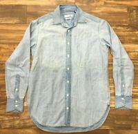 NWT Rag & Bone Jean Women's Kenton Boyfriend Light Wash Shirt Size:Large #8