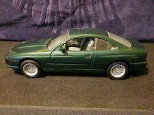 1/18 Scale Diecast Bmw 850i dark green diecast model car