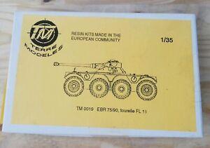 TERRE MODELES 1 35 RESIN KITS EUROPEAN COMMUNITY TM EBR 75/90 TOURELLE FL 11