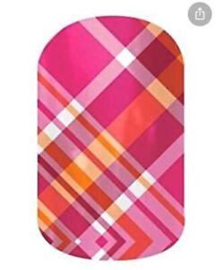 Jamberry Nail Wraps Half Sheet - Prissy Plaid
