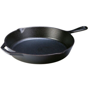 """Lodge Cast Iron Round Skillet with Handle - 12""""/30cm"""