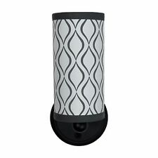 RV Trailer Textured 12V LED Decorative Wall Light Black