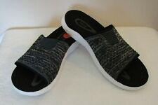 NEW Teva Mens Terra Float 2 Knit Slide Sandals 10 Black MSRP$80