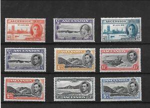George V / VI Ascension Islands MM Stamps.