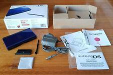 Nintendo DS Lite Cobalt Blue complete in box/insert/charger/manuals - Aust model