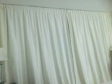 Pottery Barn 96x104 Cream/off White This Is Double Wide Block out Lining