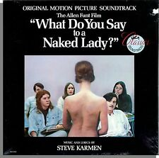 What Do You Say To a Naked Lady? - Original Soundtrack! New 1986 LP Record!