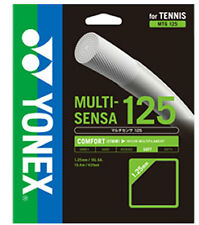 Yonex multi-sensa 16L / 1.25 mm Tennis Stringa Set-Bianco