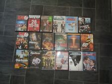 large 18 dvd bundle-scary movie 1+2,ghost rider,bad neighbours,the campaign+more