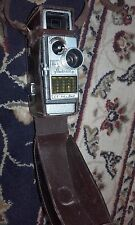 BELL & HOWELL 624EE 8mm Cine Camera, Leather Case