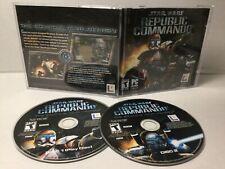 STAR WARS Republic Commando (Lucas Arts PC cd rom 2005) 2 Disc, Case,