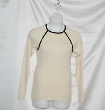 SA by Seth Aaron Sweater with Stud Detail Size XS Ivory