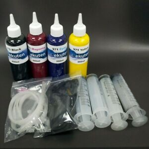 800ml genuine empty refill kit for HP pagewide Pro 477dn 477dw 477dwt