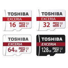 TOSHIBA 16GB 32GB 64GB 128GB Micro SD SDHC SDXC MicroSDXC 4K Class10 48MB/s ES