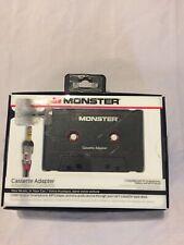Open Box Monster Cassette Adapter For Smartphone & Mp3 Player