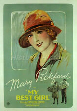 "Mary Pickford Vintage Postcard from the Movie ""My Best Girl"""