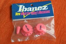Boutons IBANEZ guitare Knobs JEM VAI GUITAR RG ROSE PINK OLD STOCK GENUINE