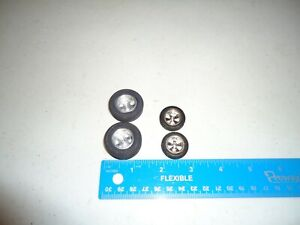 1/24 PAIR REAR CLASSIC TIRES AND PAIR UNMARKED FRONTS