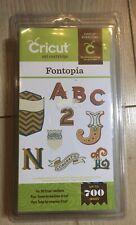 Cricut Art Cartridge Fontopia  Neu