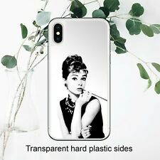 Audrey Hepburn Breakfast at Tiffanys Case Cover for iPhone Samsung Huawei Google