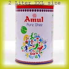 Amul Pure Cow Clarified Butter Ghee 2  Liter--SALE-JUST ARRIVED