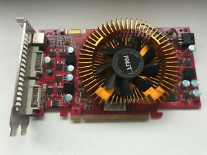 NVDIA GeForce Palit 9600GT 1GB DDR2 PCI-E 2xDVI TV-OUT Graphics Card Video Card