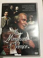 THE MERCHANT OF VENICE. Laurence Olivier, DVD.