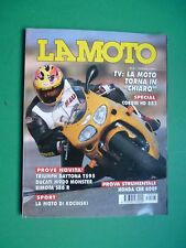 LA MOTO Marzo 1997 Corbin HD 883 Triumph Daytona T595 Ducati M900 Monster Bimota
