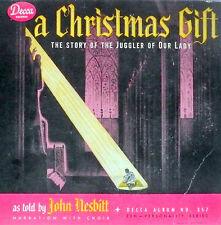 "78 rpm album 2 records N- / album: M+ // CHRISTMAS STORY --- "" A CHRISTMAS GIFT"""