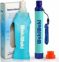 3-Stage Filter Straw Multi-Use Lead Reducing Water Filter With Soft Touch Bottle