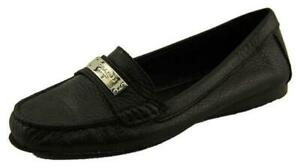 NEW COACH Fredrica Suede Flat Loafers Shoes Size 8M Slip on, Logo $118 Moccasins