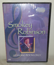 DVD SMOKEY ROBINSON - STANDING ROOM ONLY - NUOVO NEW