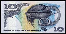 PAPUA NEW GUINEA 10 KINA 1975 P-7 UNC (F-102)