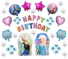 DISNEYS FROZEN HAPPY BIRTHDAY BALLOON SET ELSA AND ANNA OLAF