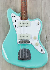 Fender '60s Jazzmaster Lacquer Electric Guitar Pau Ferro Fingerboard-Surf Green