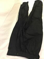 Black Bear Men Sweatpants Black Small Zipper Zipped Up Bin 33 #1