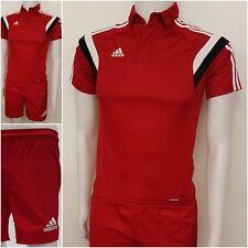 adidas Kinder Polo Short Condivo Trikot Shirt Shorts Hose Fußball Rugby LO 80-81