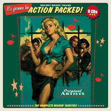 ACTION PACKED ROCKABILLY Be! Sharp 6-CD Box incl. multi page Booklet BRANDNEW