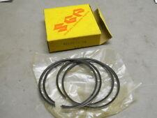 Suzuki NOS GT550, T350, 1970-72, Piston Ring Set, OS 0.50, # 12140-18750    S-28
