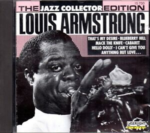 Louis Armstrong - The Jazz Collector Edition CD 1989