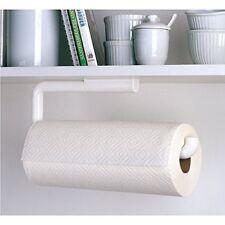 Interdesign 35001 Paper Towel Holder, Wall-Mount, White Plastic