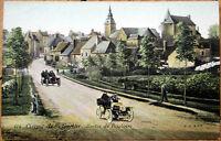 1906 Car/Auto Racing Postcard: French, 'Circuit de la Sarthe' #174