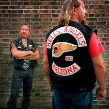 Hells Angels Motorcycle Gang Sonny Barger & AZ Member Glossy 8.5x11 Photo HA-555