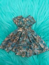 "Vintage 10 ½"" Ideal Little Miss Revlon Toni  Dress CLOTHES floral"