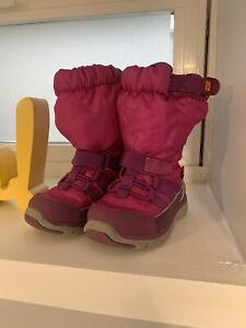 Stride Rite made2play Sneaker Snow Boots - Pink Toddler Girls Size 4.5 M