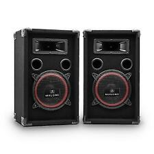 Passive Speaker PA DJ Pair Disco Stage Party Bass Stereo Professional 2x 500w