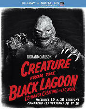 Creature from the Black Lagoon (3-D and Standard Blu-ray Disc, 2014)