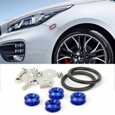 Blue Quick Release Fasteners Kit For Mitsubishi VW Front Rear Bumper Fender