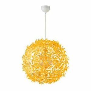New IKEA GRIMSAS Pendant lamp Yellow Energy Rating A++ 55 cm,decorative patterns